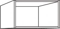 élément haut blanc h. totale 28,1 cm profondeur 32 cm larg...