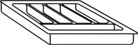 RANGE COUVERTS PLAST.450G10045