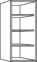 élément haut blanc h. totale 96,5 cm profondeur 32 cm larg...