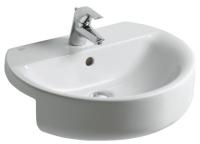 vasque sphère Connect semi-encastrée 55 cm