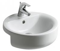 vasque sphère Connect semi-encastrée 45 cm