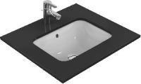vasque rectangulaire Connect à encastrer par le dessous 50 ...