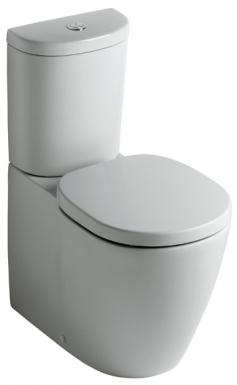 cuvette de wc cube connect sortie horizontale r s attenant accostage mural int gral. Black Bedroom Furniture Sets. Home Design Ideas