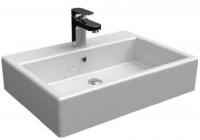 vasque Strada à poser ou à fixer au mur 60 x 42 cm...