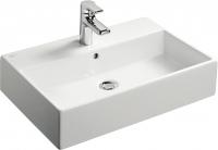 vasque Strada à poser ou à fixer au mur 60 x 42 cm émaill...