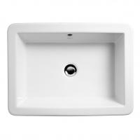 vasque Strada à encastrer par le dessus 59,2 x 43,2 cm...