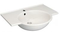 lavabo-plan Sapho 65 x 52 cm - avec trop-plein