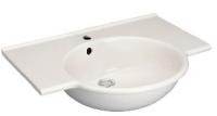 lavabo-plan Sapho 65 x 52 cm - sans trop-plein