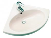 "lavabo d""angle Carene 73,5 x 66 cm"