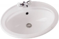 vasque Ulysse 2 56 x 46 cm - à encastrer par le dessus - sa...