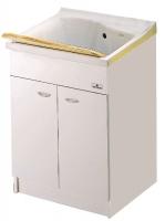 meuble pour bac à laver Lago 75 cm (73 x 59 x H 81 cm) - av...