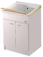 meuble pour bac à laver Lago 61 cm (59 x 59 x H 81 cm) - av...