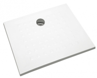 receveur carré à encastrer Matura 90 x 90 cm