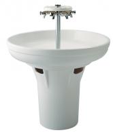 colonne Circulaire avec robinet simple et 6 aérateurs