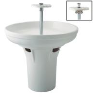 colonne nue Circulaire à équiper de 6 robinets temporisés...