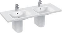 lavabo-plan double Connect 130 x 49 cm