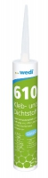 colle polymère wedi 610 - cartouche 310 ml (8 à 10 m par c...