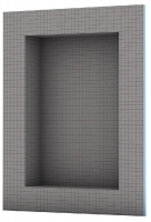 niche à carreler - dim. 300 x 600 x 10 mm