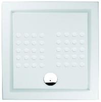 receveur de douche à poser Polo - dim. 90 x 90 x 10 cm...