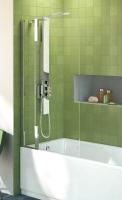 pare-baignoire mobile Connect - droit 80 - H 1400 - verre tr...