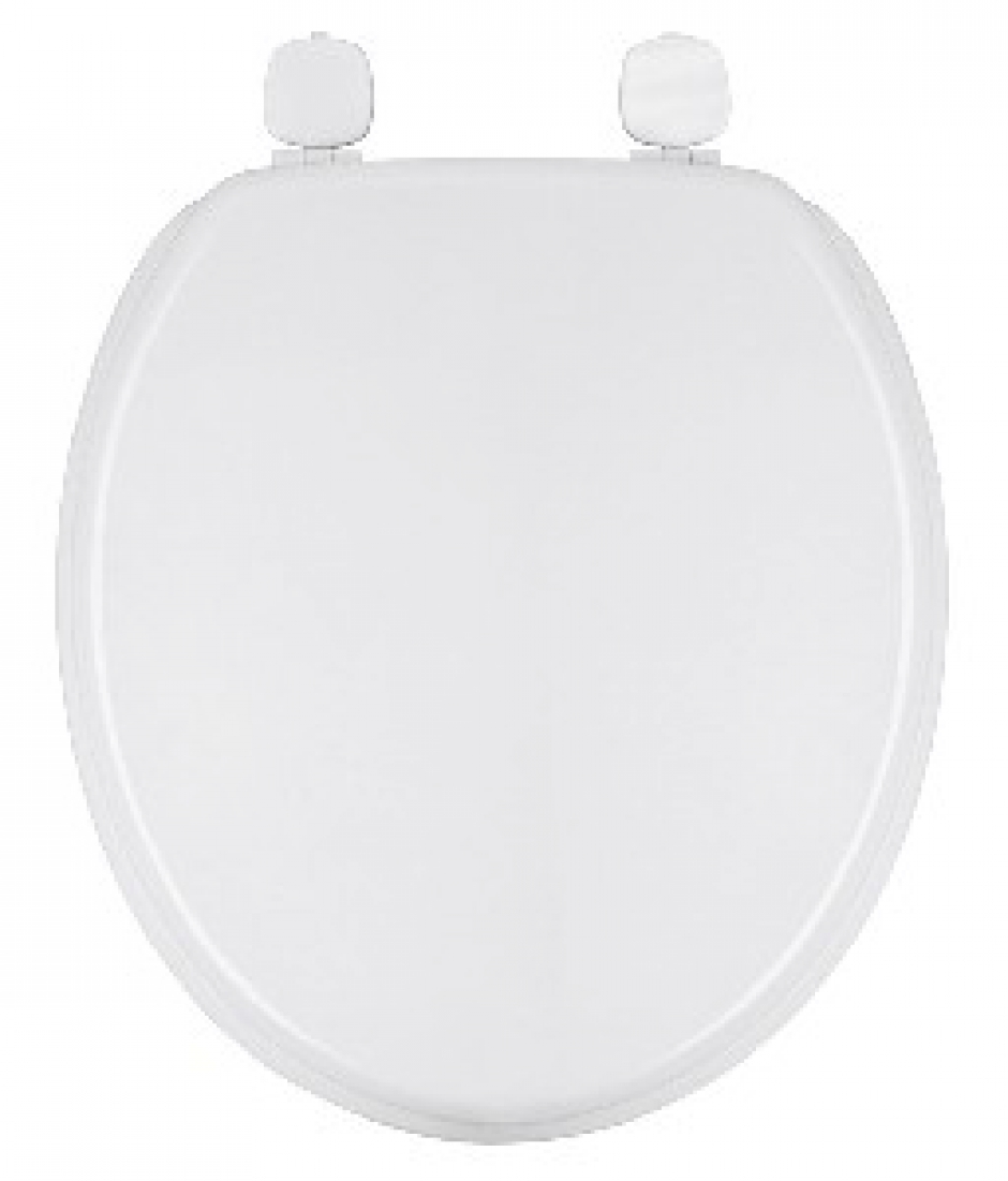 Plaque Bois Compressé - Salle de bain Abattant WC abattant Marine avec couvercle bois compressé blanc
