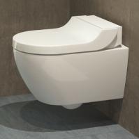 cuvette suspendue AquaClean Tuma Comfort - coloris blanc alp...
