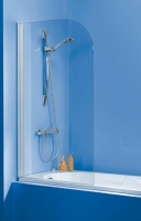 pare-baignoire Atout 80 - H 1400 - profilé laqué blanc - v...