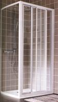 paroi Atout 100 - H 1900 - profilé laqué blanc - vitrage v...