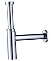 siphon lavabo Flowstar S laiton chromé - hauteur réglable ...