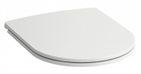 abattant WC Pro Slim à retombée amortie - couvercle plat...