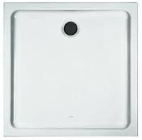 receveur de douche carré Merano - dim. 90 x 90 x 6,5 cm - a...