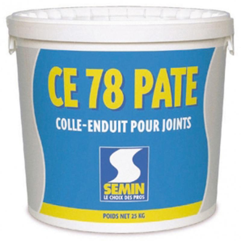 Enduit bande ce78 p te colle enduit pour joint pr t l emploi seau de 5 kg - Enduit de lissage bande a joint ...