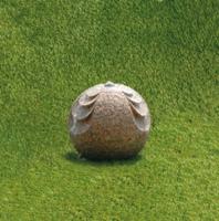sphère SFOGLIE - jeu d'eau en granit - Ø 40 cm - poids 80 ...