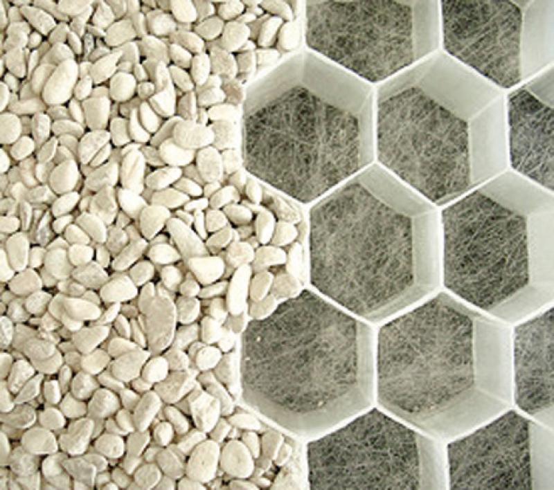 plaque nidagravel 130 blanc 240 x 120 cm paisseur 3 cm g otextile 45 g m2. Black Bedroom Furniture Sets. Home Design Ideas