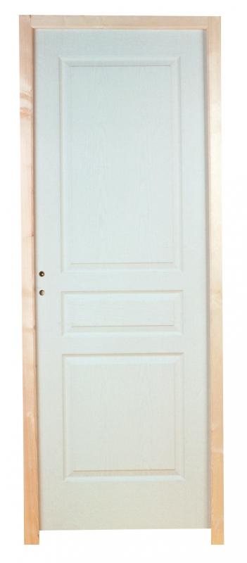 Bloc porte 204 x 83 cm traverse droite poussant droit for Dimension bloc porte 83