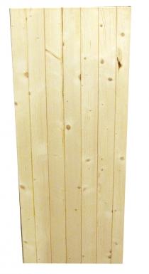 volet en kit bois blanc p 28 mm lames verticales assemb touri hxl 148x60 cm. Black Bedroom Furniture Sets. Home Design Ideas