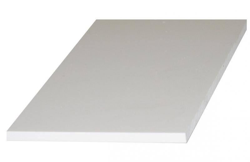 plaque pvc expans komatex blanc mat et lisse p 3 mm panneau 3x1 56 m le m2. Black Bedroom Furniture Sets. Home Design Ideas